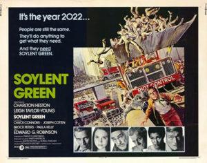 Affiche du film Soleil vert (Soylent Green)