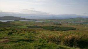 Paysage en Irlande