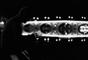 La silhouette d'un Noctécolo se détache dans la nuit.