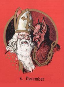 Saint Nicolas et le Krampus