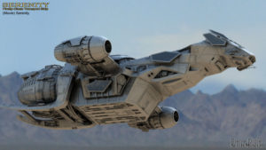 Vaisseau spatial Serenity (modèle Firefly)