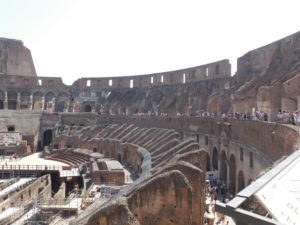 Tourisme culturel et tourisme de masse: le Colisée
